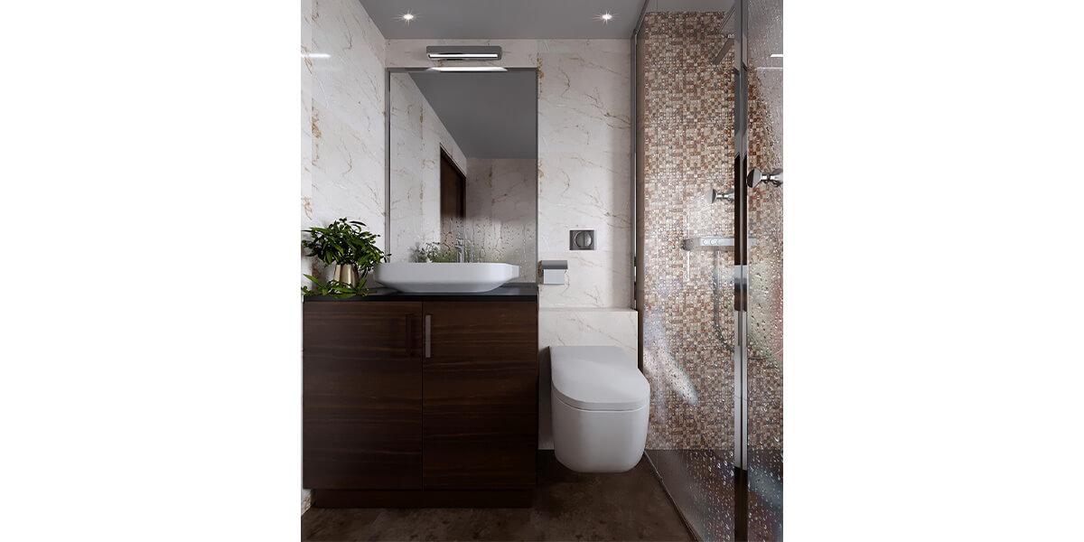 Best interior designers in Bangalore| delights with luxury bathroom